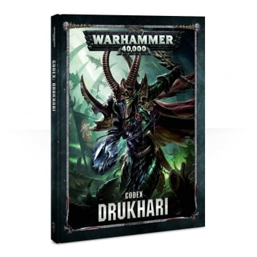 Games Workshop Warahmmer 40,000 Codex : Drukhari NEW