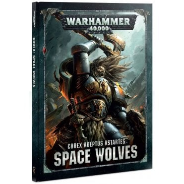 Games Workshop Warhammer 40,000 Codex Adeptus Astartes : Space Wolves