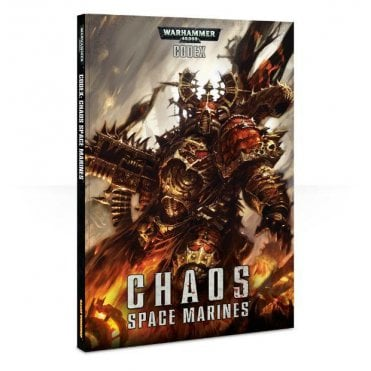 Games Workshop Warhammer 40,000 Codex - Chaos Space Marines