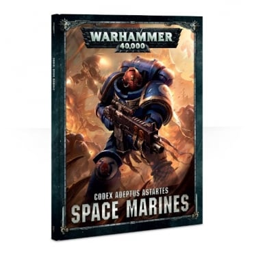 Games Workshop Warhammer 40,000 Codex : Space Marines