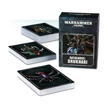 Games Workshop Warhammer 40,000 Datacards : Drukhari