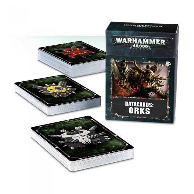 Games Workshop Warhammer 40,000 Datacards : Orks