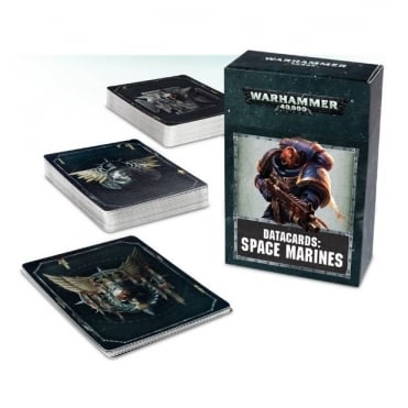 Games Workshop Warhammer 40,000 Datacards: Space Marines