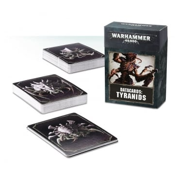 Games Workshop Warhammer 40,000 Datacards: Tyranids