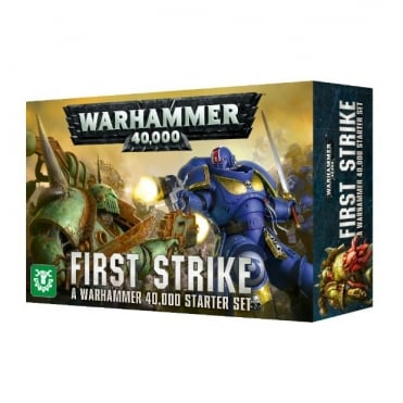 Games Workshop Warhammer 40,000: First Strike Starter Set