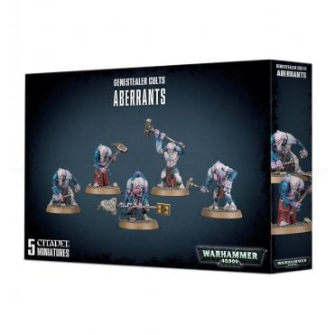 Games Workshop Warhammer 40,000 Genestealer Cults Aberrants