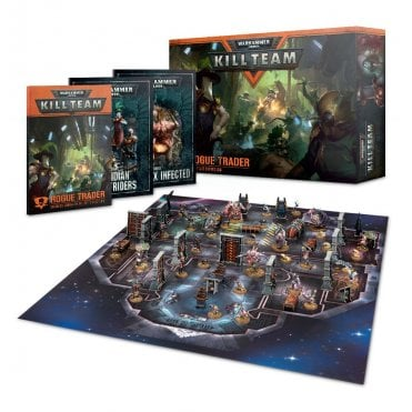 Games Workshop Warhammer 40,000 : Kill Team Rogue Trader Boxed Game Set