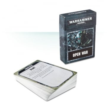 Games Workshop warhammer 40,000 : Open War Cards