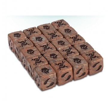 Games Workshop Warhammer 40,000 Ork Dice