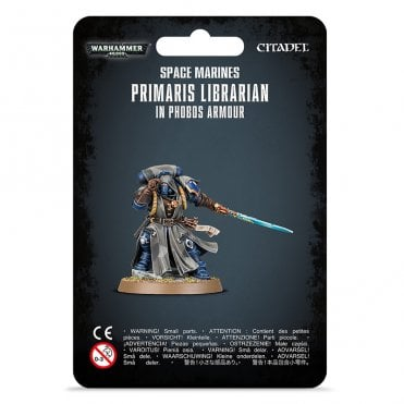 Games Workshop Warhammer 40,000 space Marines : Primaris Librarian in Phobos Armour