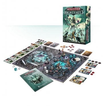 Games Workshop Warhammer Underworlds : Nightvault Two Player Game