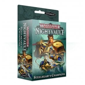 Games Workshop Warhammer Underworlds Shadespire : Steelhearts Champions