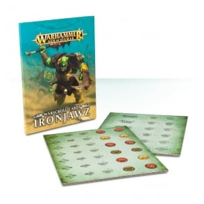 Games Workshop Warscroll Cards: Ironjawz