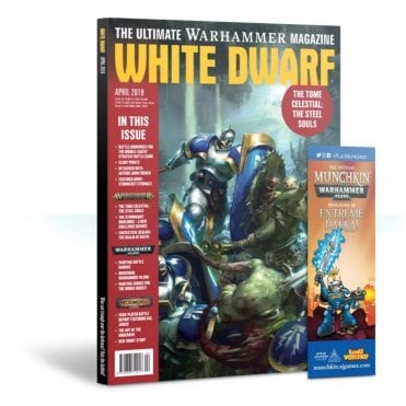 Games Workshop White Dwarf Magazine - April 2019