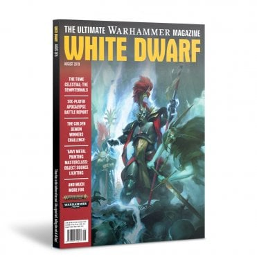 Games Workshop White Dwarf Magazine August 2019