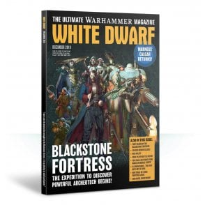 Games Workshop White Dwarf Magazine - December 2018