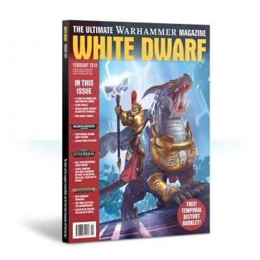Games Workshop White Dwarf Magazine - February 2019