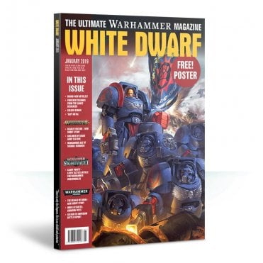 Games Workshop White Dwarf Magazine - January 2019