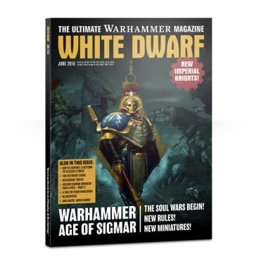 Games Workshop White Dwarf Magazine - June 2018