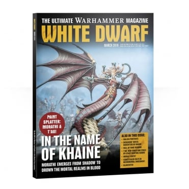 Games Workshop White Dwarf Magazine - March 2018