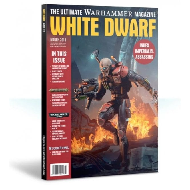 Games Workshop White Dwarf Magazine - March 2019