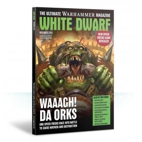 Games Workshop White Dwarf Magazine - November 2018