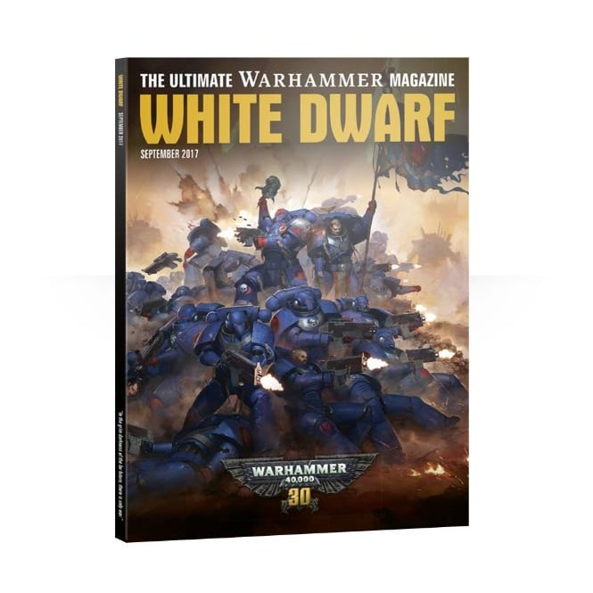 Games Workshop White Dwarf Magazine - September 2017