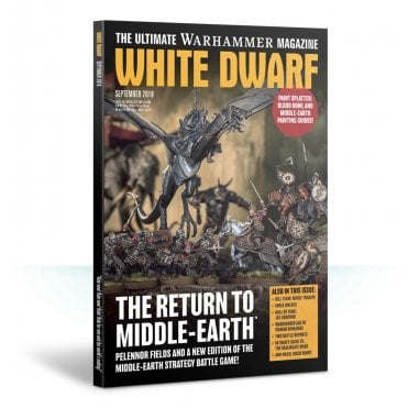 Games Workshop White Dwarf Magazine - September 2018