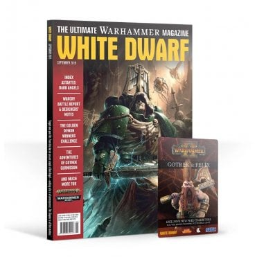 Games Workshop White Dwarf Magazine - September 2019