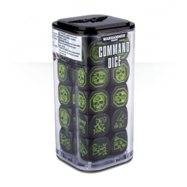 Games Worskhop Warhammer 40,000 Command Dice 20 Pack