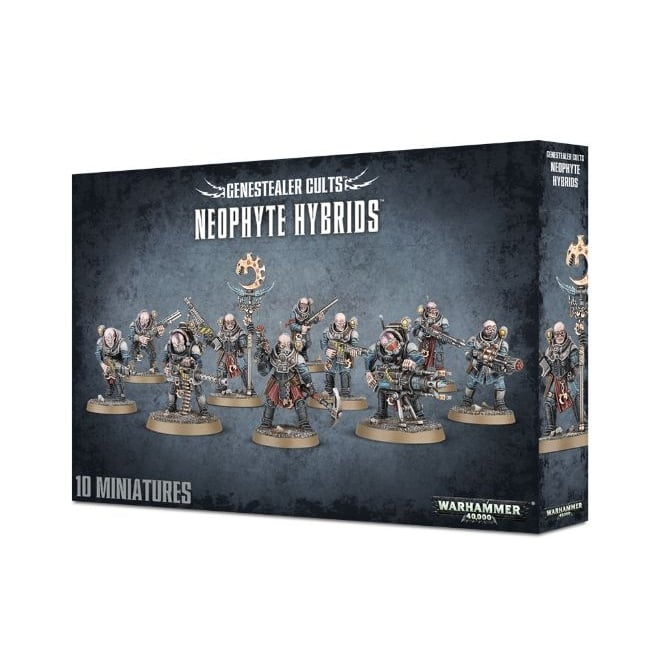 Games Workshop Genestealer Cults Neophyte Hybrids