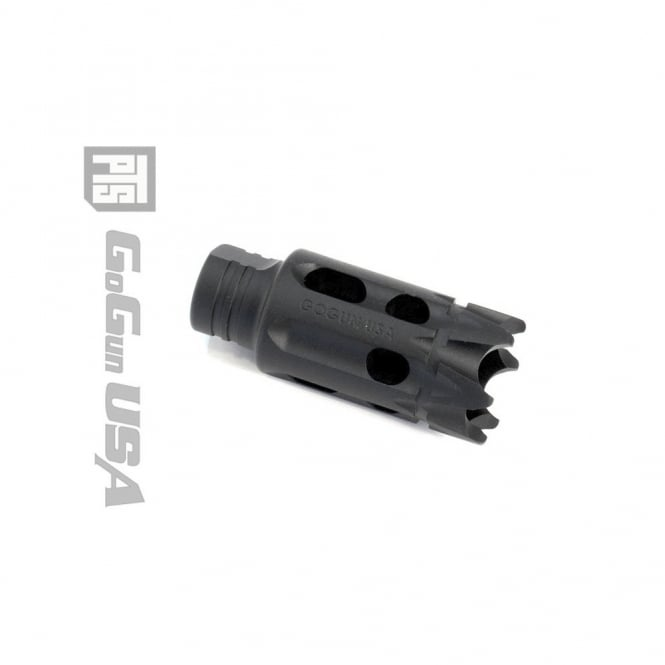 PTS Syndicate Airsoft GoGun SuperComp Talon Flash Hider - CCW