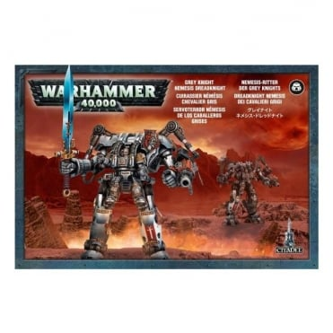 Grey Knights Nemesis Dreadknight Warhammer 40,000