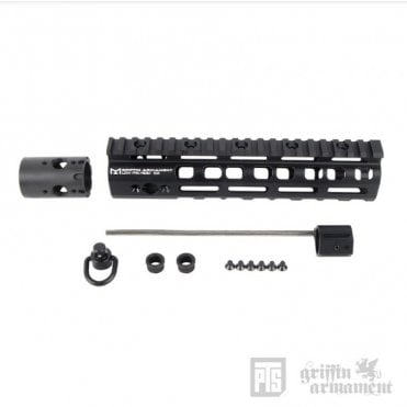 "Griffin Low Pro Rigid M-LOK Rail 8.6"" - Black"