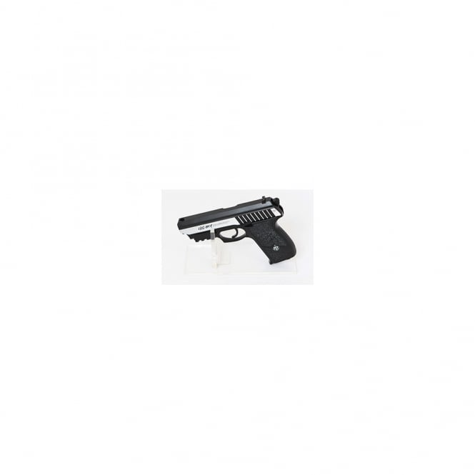 G&G Airsoft GS801 with Laser CO2 Pistol - Silver
