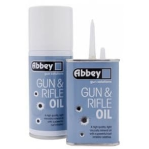 Gun & Rifle Oil Tin for Firearms/Shotguns