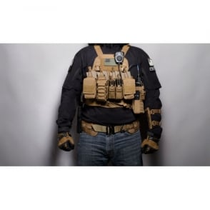 Haley Strategic Disruptive Environments Chest Rig D3CR - Coyote