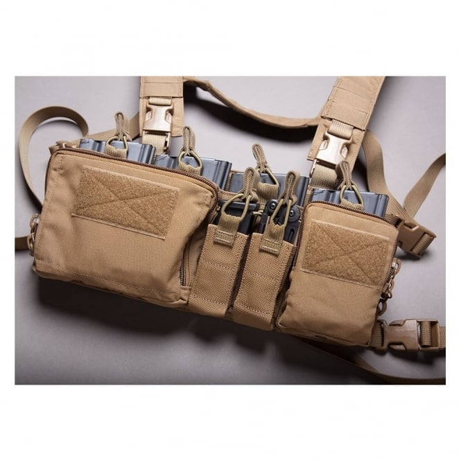 Haley Strategic Disruptive Environments Heavy Chest Rig - Coyote Brown