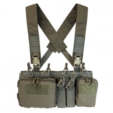 Haley Strategic Disruptive Environments Heavy Chest Rig D3CR-H - Ranger Green