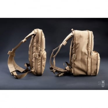 Haley Strategic Flatpack Expandable Combat Assault Pack - Coyote Brown