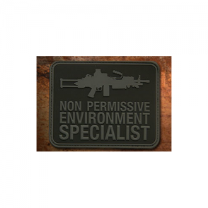 Haley Strategic Non Permissive Environment Specialist Patch - Disruptive Grey