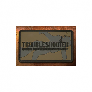 Haley Strategic Trouble Shooter Patch - Disruptive Grey
