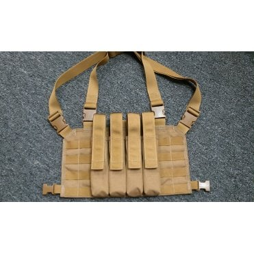 Head On Tactical 4 Mag Vector Chest Rig - Multicam