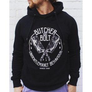 Heavy Machine Gun Clothing Butcher & Bolt Ungentlemanly Behaviour Hoodie