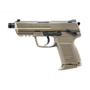 Heckler & Koch HK45CT Gas Pistol Flat Dark Earth