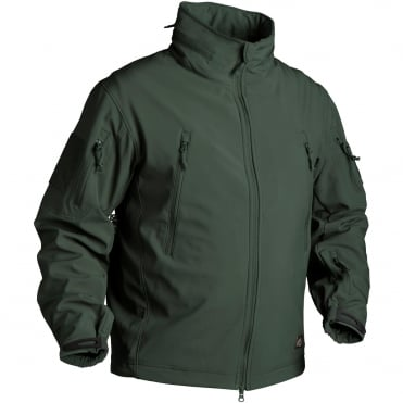 Helikon Gunfighter Soft Shell Jacket Jungle Green-Small