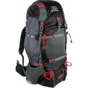 Highlander Outdoor Ben Nevis 65 Rucksack - Black