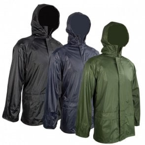 Highlander Outdoor Stormguard Packaway Jacket - Navy