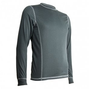 Highlander Outdoor Thermo 160 ens Long Sleeve Top - Dark Grey