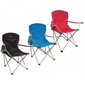 Highlander Outdoor Traquair Chair Red